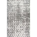 nuLOOM Deedra 7'6 x 9'6 Area Rug in Grey