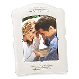 Lenox® Opal Innocence™ Love is Patient 8-Inch x 10-Inch Photo Frame