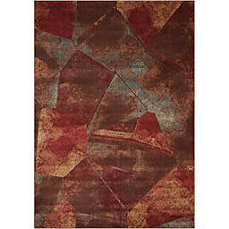 Nourison Somerset Abstract Multicolor Rug