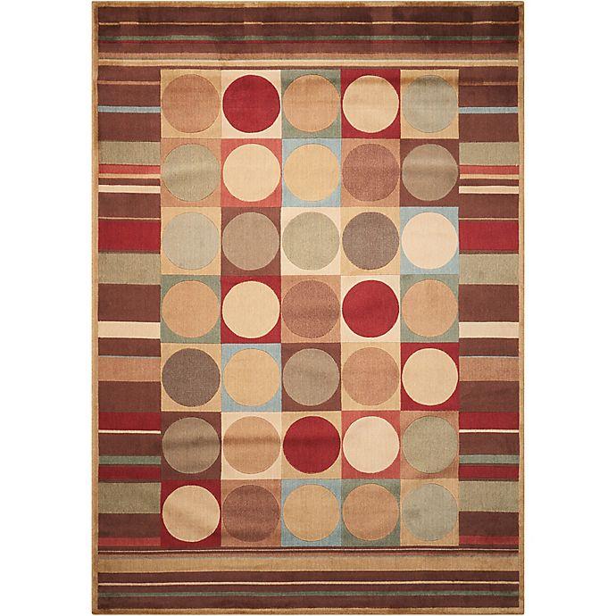 Alternate image 1 for Nourison Somerset Shapes 5'3 x 7'5 Multicolor Area Rug