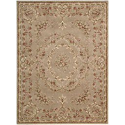 Nourison Somerset Regal Floral Rug in Mocha