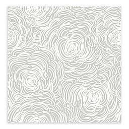 A-Street Prints Celestial Floral Wallpaper in Grey