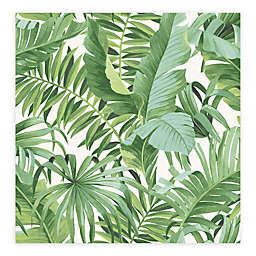 A-Street Prints Alfresco Palm Leaf Wallpaper in Green