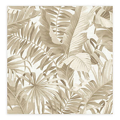 Alfresco Palm Leaf Wallpaper