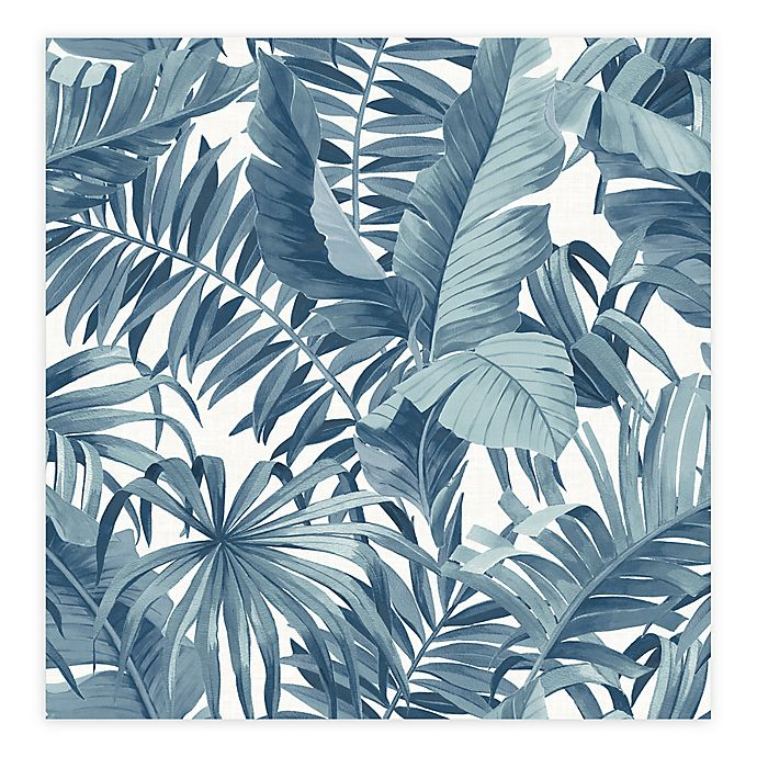 Alternate image 1 for Alfresco Palm Leaf Wallpaper