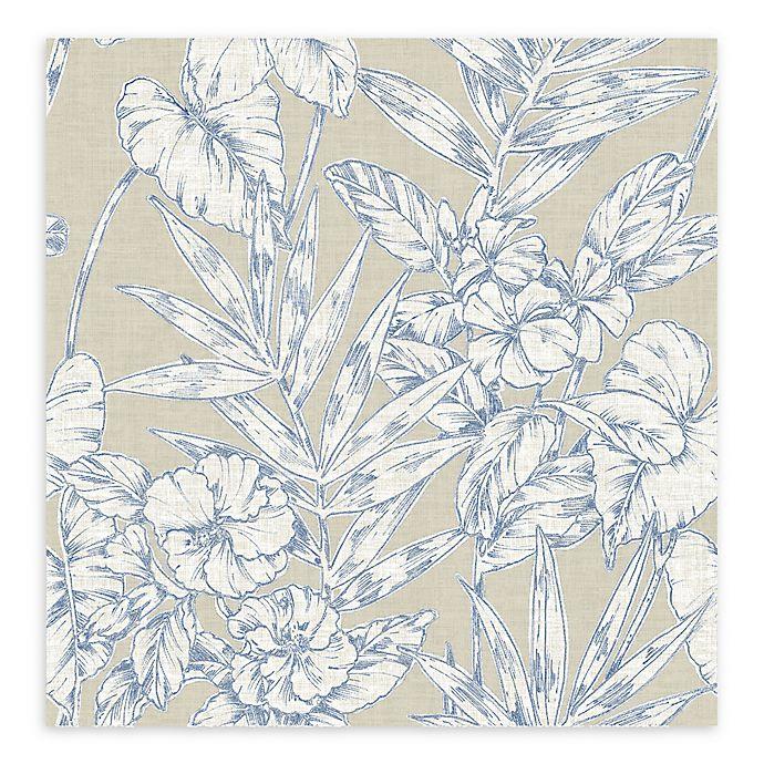 Alternate image 1 for A-Street Prints Fiji Floral Wallpaper
