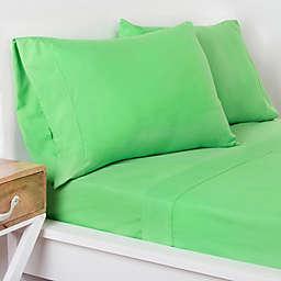 Crayola® Microfiber Twin Sheet Set in Green
