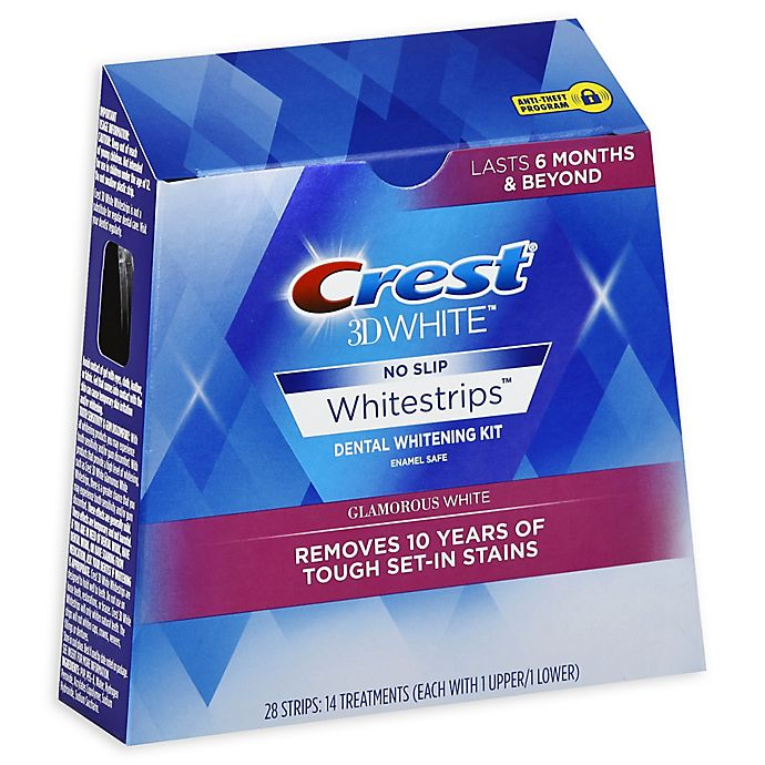 Crest® 3D White Luxe Whitestripes Glamorous White Teeth