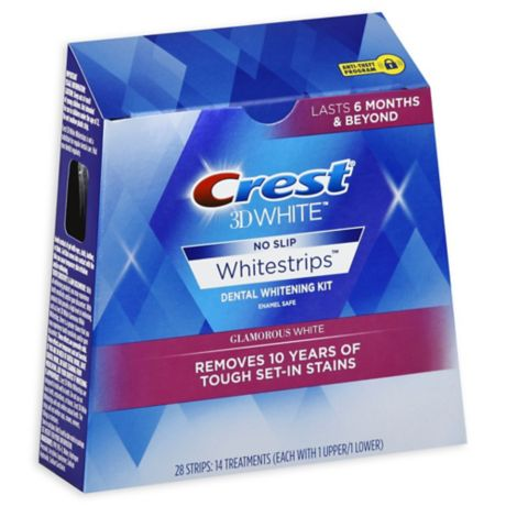 Crest 3d White Luxe Whitestripes Glamorous White Teeth Whitening