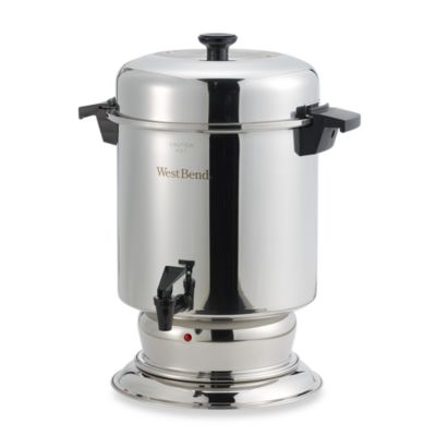 West Bend 174 55 Cup Commercial Stainless Steel Coffee Urn