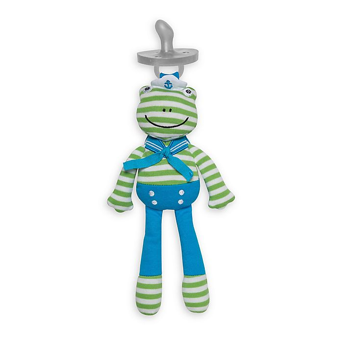 Alternate image 1 for Apple Park™ Organic Farm Buddies™ Skippy the Frog Pacifier