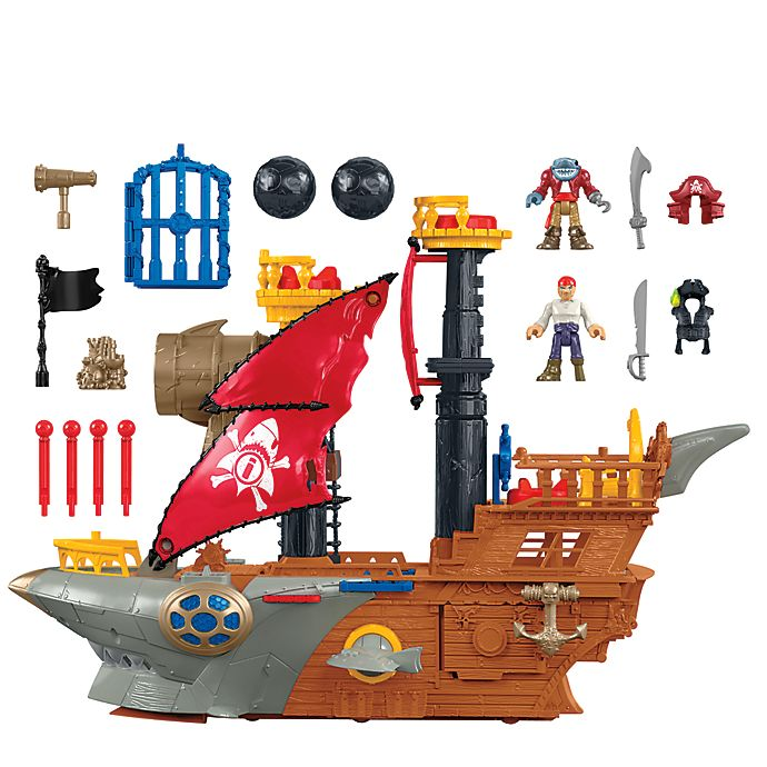 Alternate image 1 for Fisher-Price® Imaginext® Pirate Ship