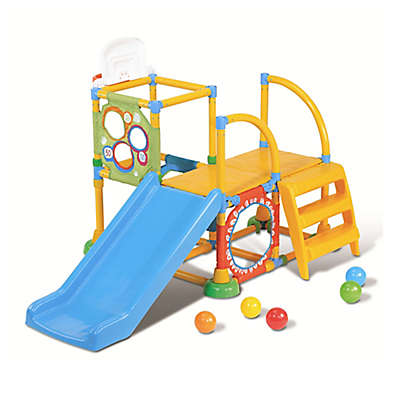 Grow'n Up Climb-N-Slide Activity Gym