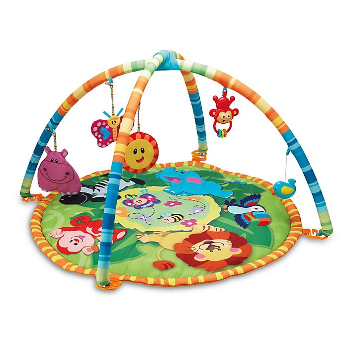 Alternate image 1 for Winfun Jungle Pals Play Mat