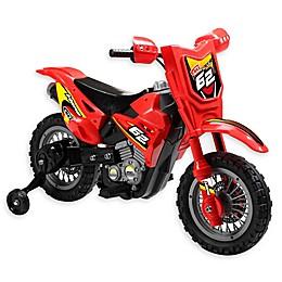 Dirt Bike 6V Ride-On in Red
