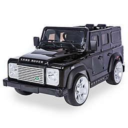 Land Rover Defender SUV 12V Ride-On in Black