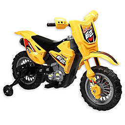 Dirt Bike 6V Ride-On in Yellow