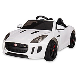 Blazin Wheels Jaguar F-Type Race Car in White