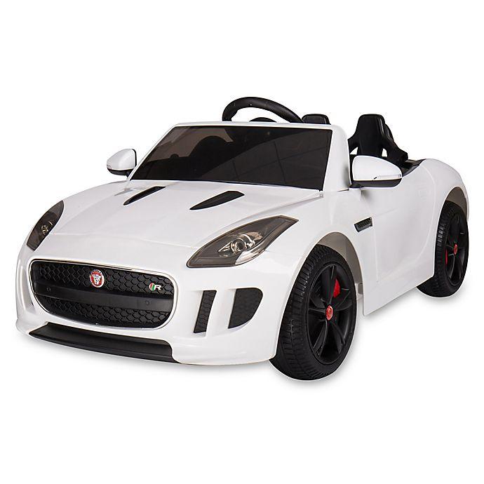 Alternate image 1 for Blazin Wheels Jaguar F-Type Race Car in White