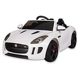 Blazin Wheels Jaguar F-Type Race Car in White
