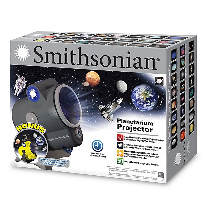 Alternate image 1 for Smithsonian Planetarium Projector