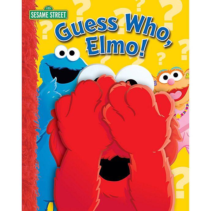 Alternate image 1 for Sesame Street® Guess Who, Elmo!