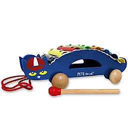 Pete the Cat® Pull-Along Wood Xylophone