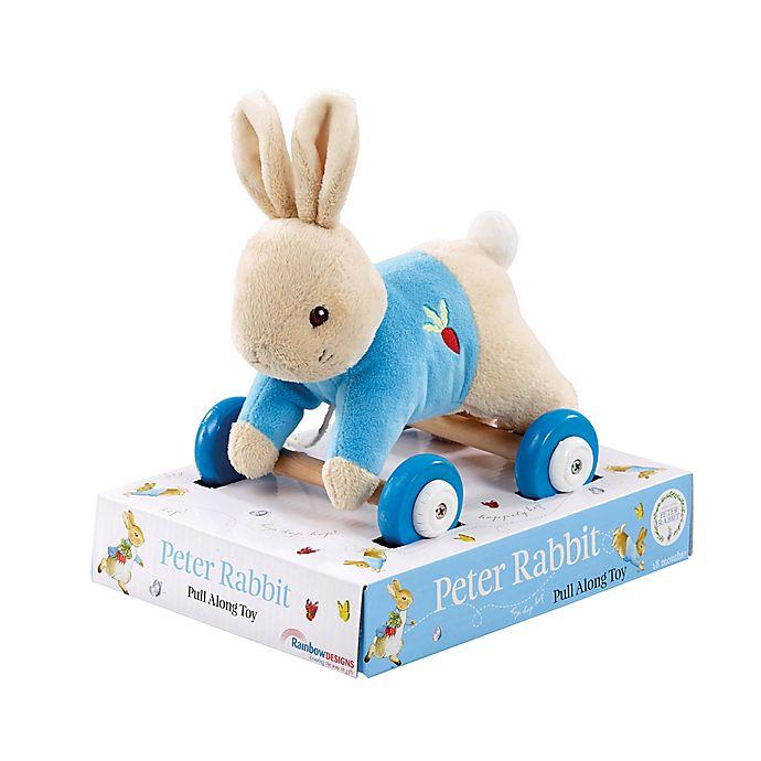 Alternate image 1 for Beatrix Potter™ Peter Pull-Along Plush Toy