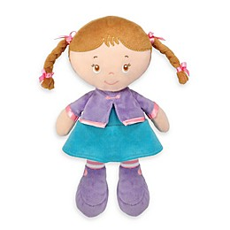 Maya Plush Doll with Brunette Hair