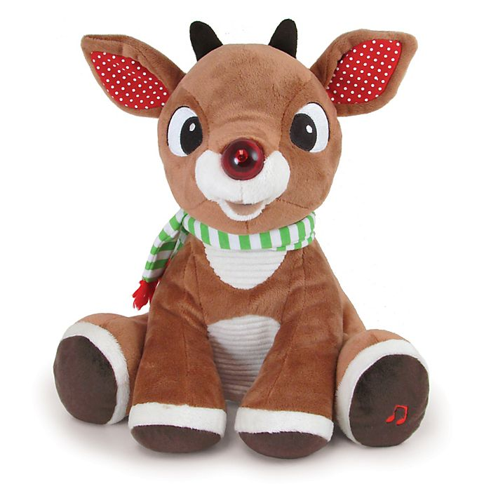 Alternate image 1 for Rudolph the Red-Nosed Reindeer® Light Up Musical Rudolph
