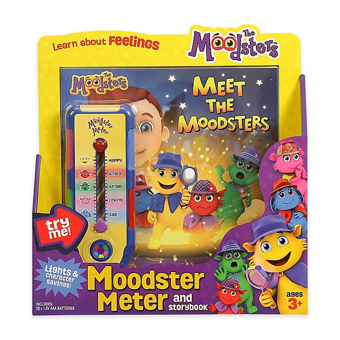 Alternate image 1 for The Moodsters™ Feelings Thermometer and Storybook