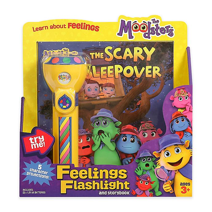 Alternate image 1 for The Moodsters™ Feelings Flashlight and Storybook