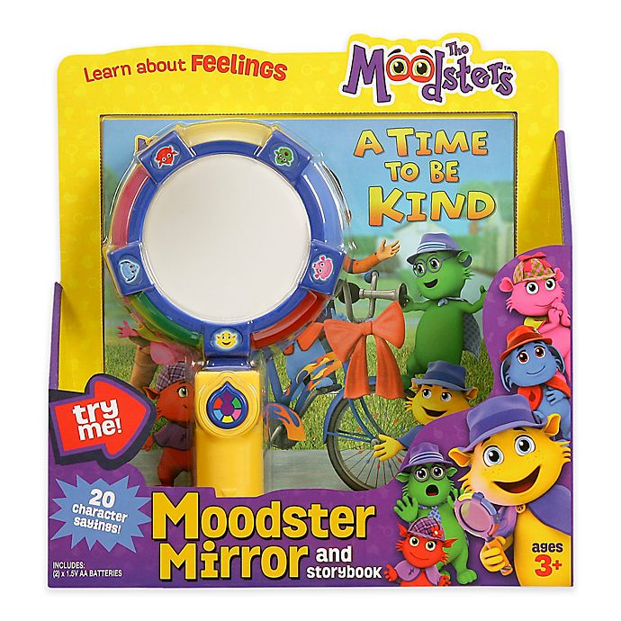 Alternate image 1 for The Moodsters™ Mirror and Storybook