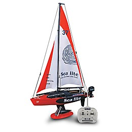 G.B. Pacific Full Function Radio Control Sail Boat in Red