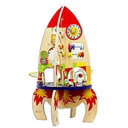 Classic World Wood Multi Activity Rocket