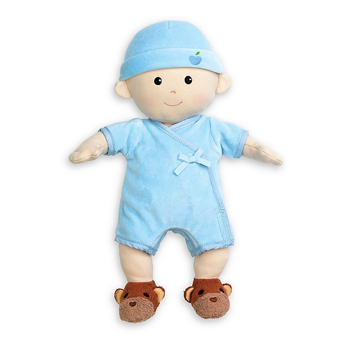 Alternate image 1 for Apple Park Baby Boy Doll