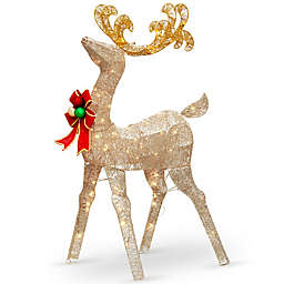 National Tree Company® 48-Inch Reindeer Decoration with Clear Lights