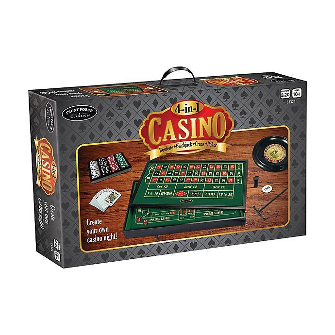 Alternate image 1 for Front Porch Classics 4-in-1 Casino