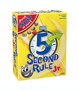 PlayMonster Juego de mesa 5 Second Rule Jr.