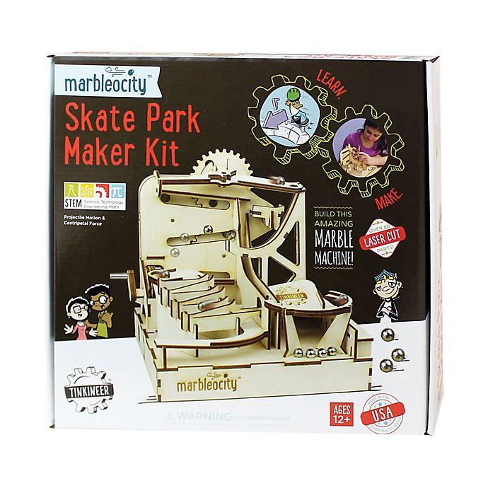 Alternate image 1 for PlayMonster Marbleocity® Skate Park Kit