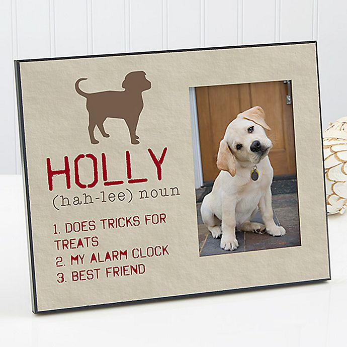 Alternate image 1 for Definition of My Dog Picture Frame