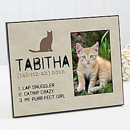 Definition of My Cat Picture Frame