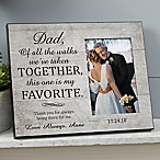 My Favorite Walk Wedding Picture Frame