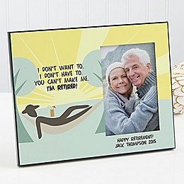 I'm Retired Photo Frame