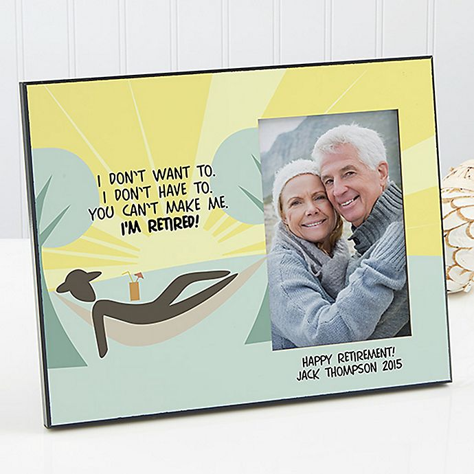Alternate image 1 for I'm Retired Photo Frame
