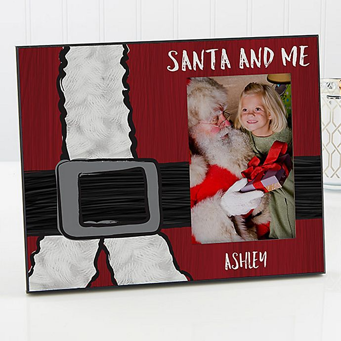 Alternate image 1 for Santa & Me Christmas Picture Frame