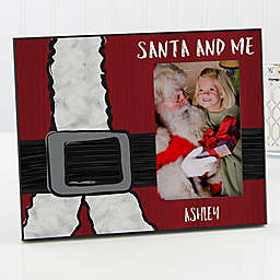 Santa & Me Christmas Picture Frame