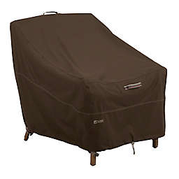 Classic Accessories® Madrona RainProof Deep Seated Lounge Chair Cover in Dark Cocoa