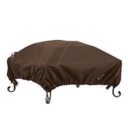 Classic Accessories® Madrona RainProof Small Square Fire Pit Cover in Dark Cocoa