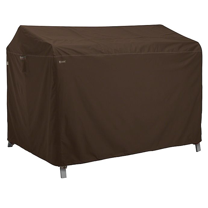 Alternate image 1 for Classic Accessories® Madrona RainProof Patio Canopy Swing Cover in Dark Cocoa